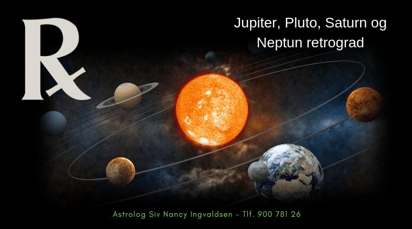 Retrograde planeter – sommeren 2019