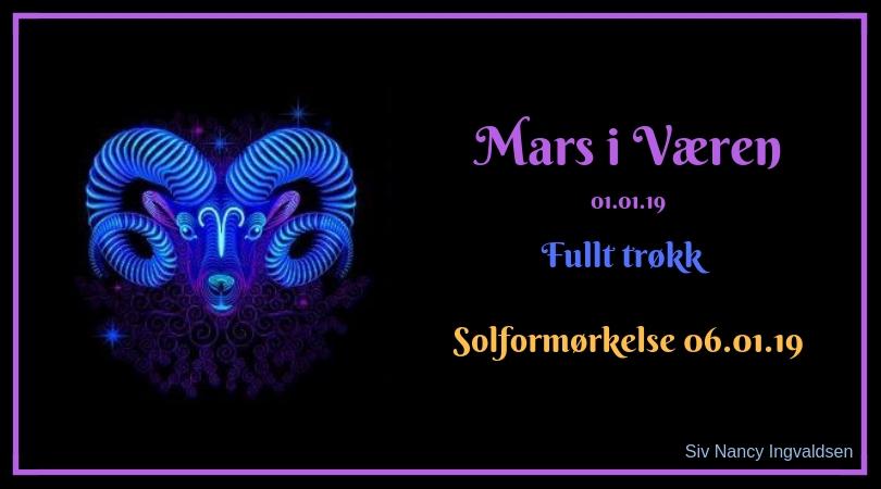 Mars i Væren