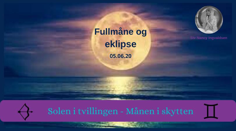 Fullmåne og eklipse – 05.06.20