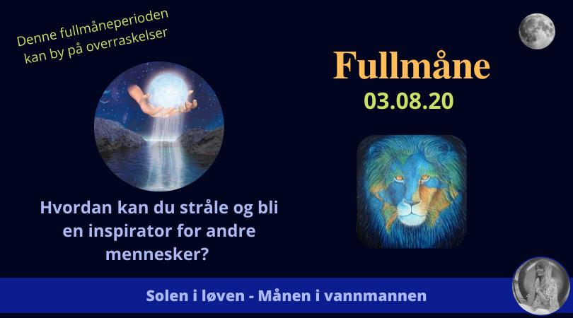 FULLMÅNEN 03.08.20